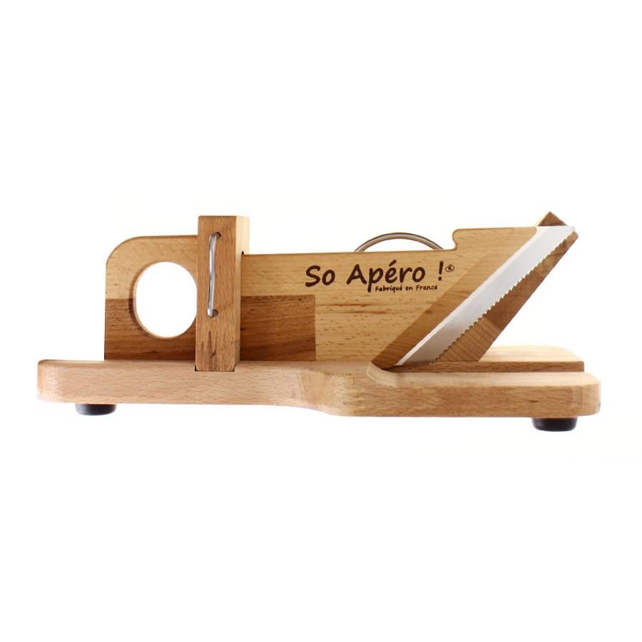 guillotine saucisson grav e personnalis. Black Bedroom Furniture Sets. Home Design Ideas