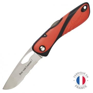 Couteau marin personnalisé Wichard Offshore rouge