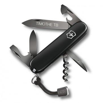 Couteau Suisse personnalisé Victorinox Spartan PS Black