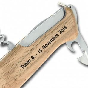 Couteau Suisse gravé Victorinox Rangerwood