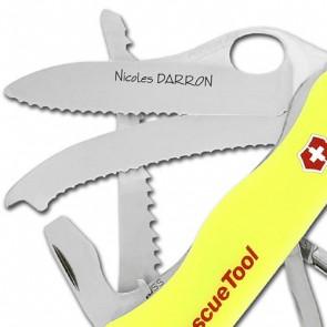 Couteau Suisse gravé Victorinox Rescue Tool
