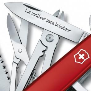 Couteau Suisse gravé Victorinox Handyman