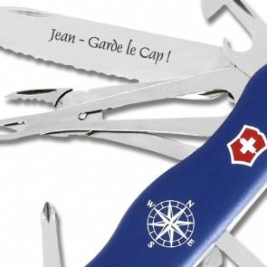 Couteau Suisse gravé Victorinox Skipper