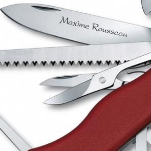 Couteau Suisse gravé Victorinox Outrider