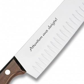 Couteau Santoku gravé Victorinox Rosewood 17cm