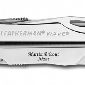 Leatherman Wave personnalisé