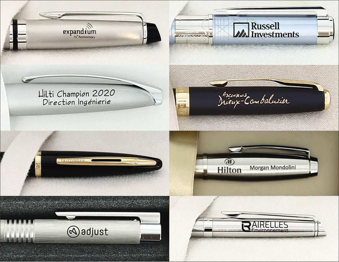 stylos cadeaux entreprises