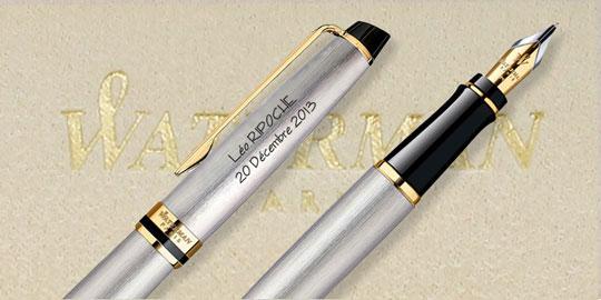 stylo plume personnalisé