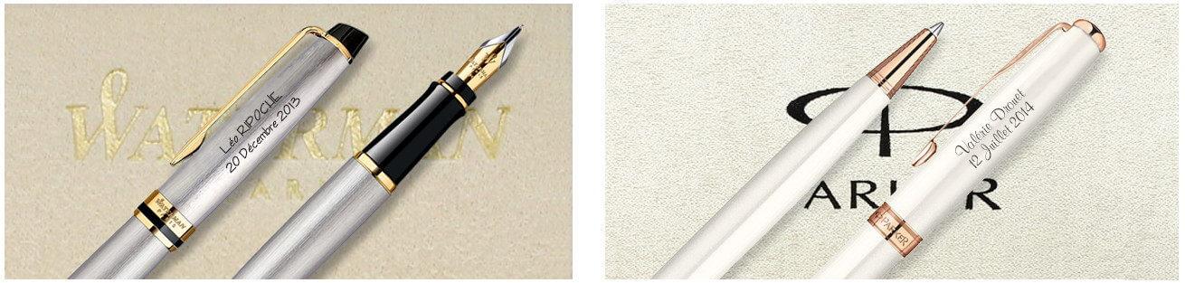 stylo personnalisé gravé